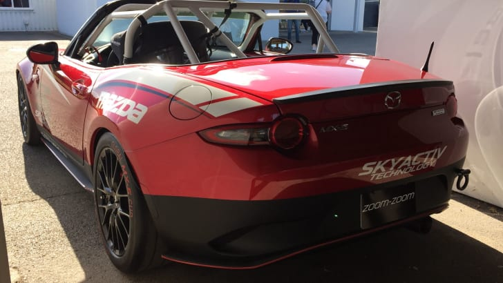 Mazda MX-5 Global Cup racer 03