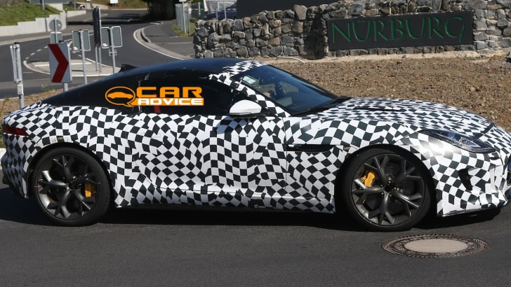 Jaguar F-Type Coupe R-S Spied - 3