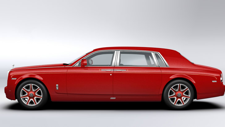 Rolls-Royce Phantom Louis XIII - side