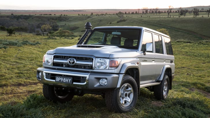 2017 Toyota Landcruiser 70 Series