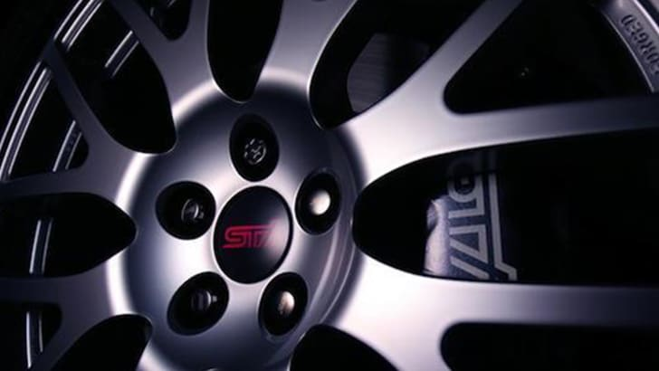 Subaru Forester STI teaser - alloy wheel