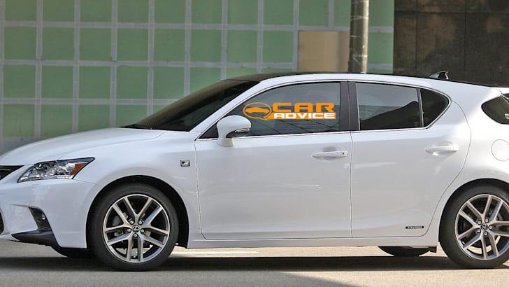 Lexus CT200h F Sport Spied - 3