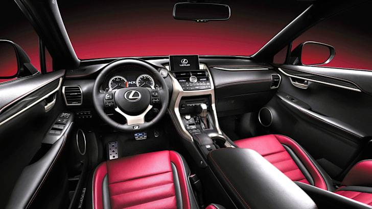 NX+F+Sport+interior