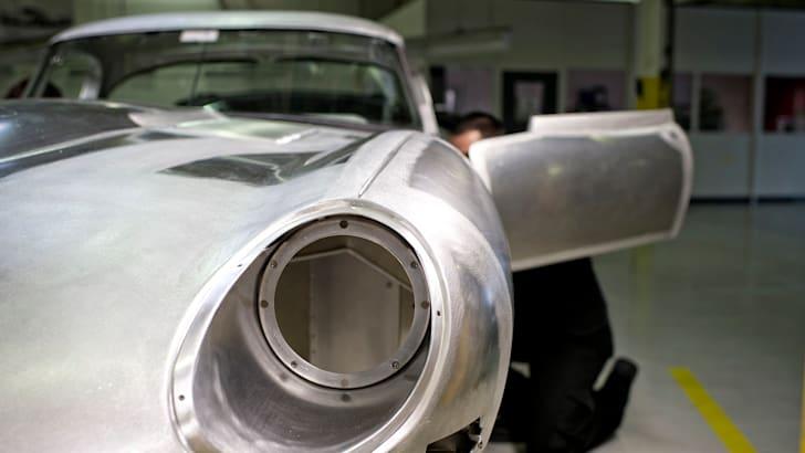 Jaguar Lightweight E-Type body