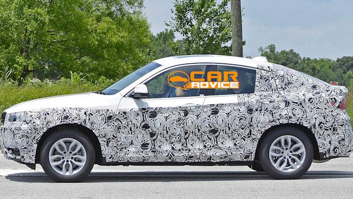 BMW X4 spied - 4