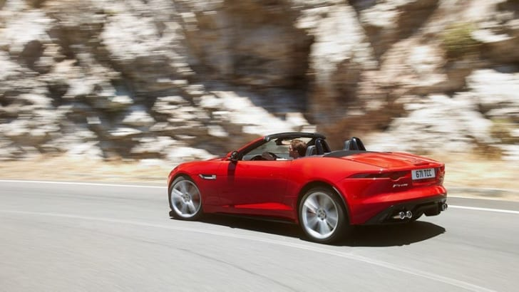 Jaguar F-Type Roadster - 9
