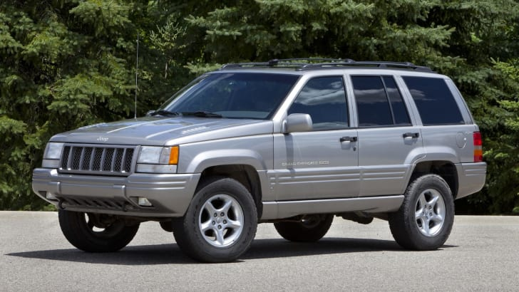 1998 Jeep Grand Cherokee; First generation Grand Cherokee (1992-1998) on the ZJ platform