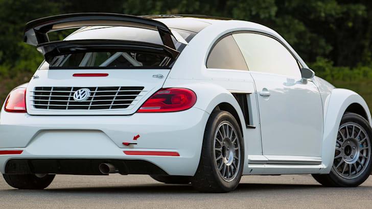 Volkswagen Beetle GRC rear