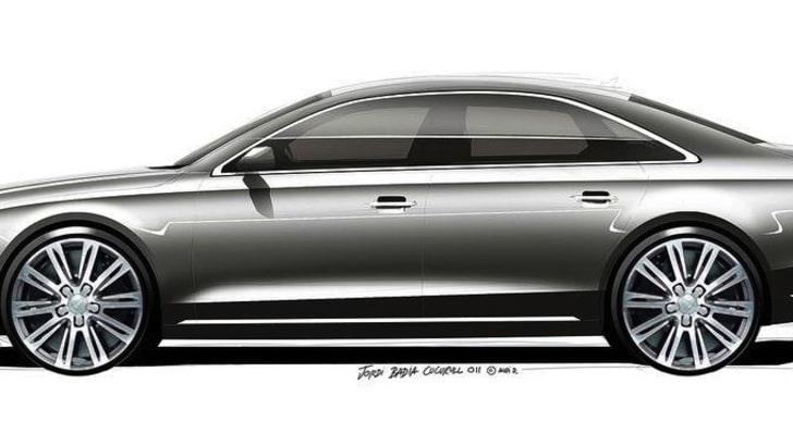 Audi A8 Facelift Teased - 3
