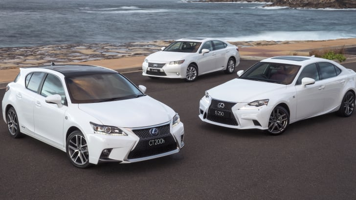 Lexus range update - 2
