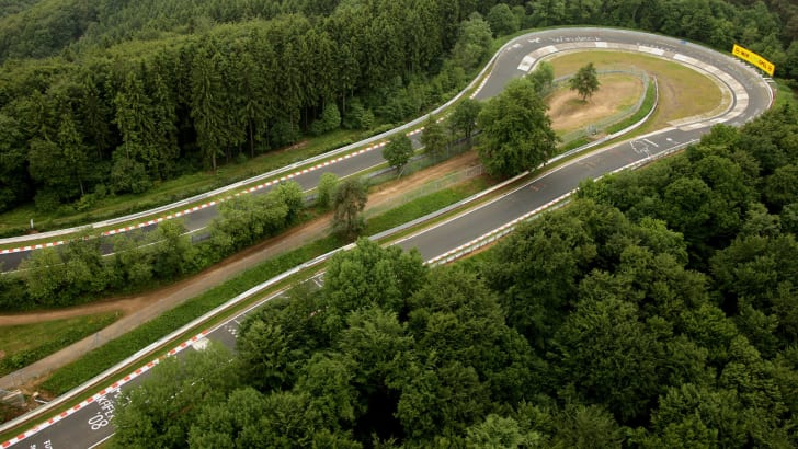 Nurburgring from a helicopter