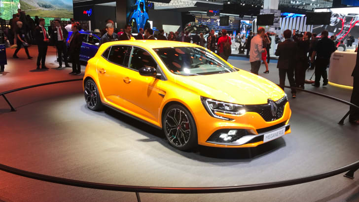 2018 Renault Megane RS breaks cover | CarAdvice