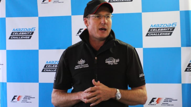 Mazda 6 Celebrity Challenge - Mark Skaife