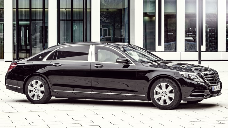 Mercedes-Maybach S600 Guard 3
