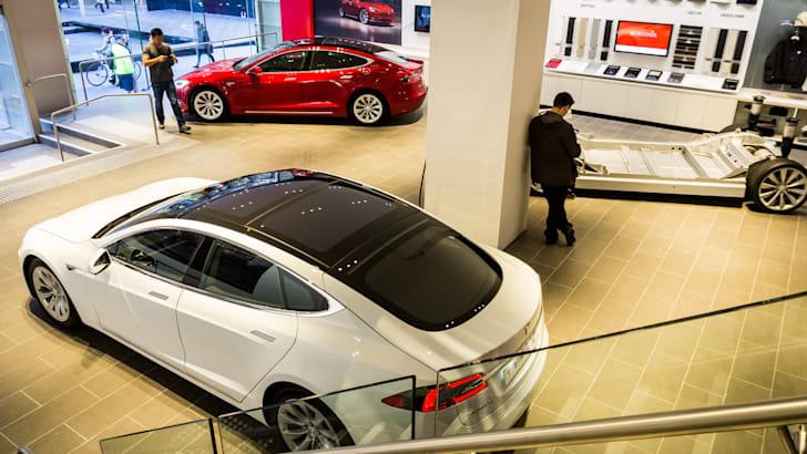 Tesla Model X peek at Sydney flagship store opening-22