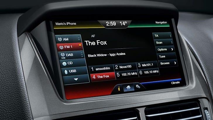 Ford Falcon interior 3