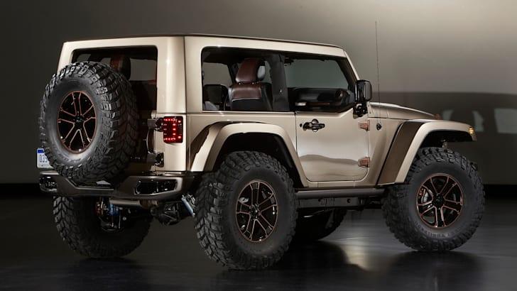 Jeep Wrangler Flattop - 4