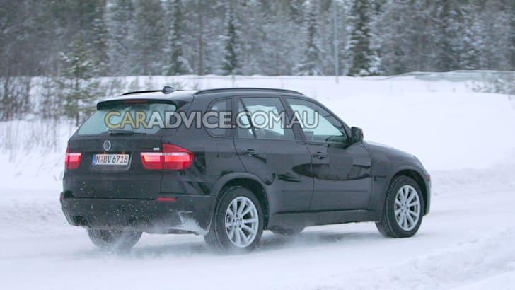 2010 BMW X5 M SUV spied