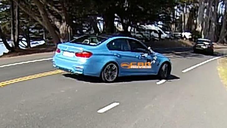BMW M3 Spied Undisguised - 8