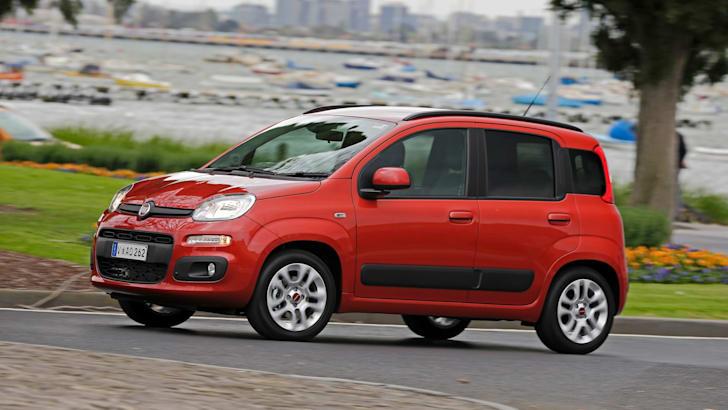 Fiat Panda driving news