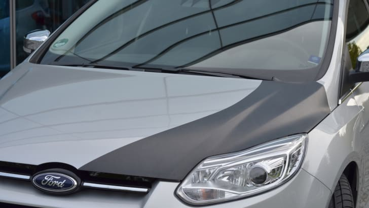 Ford Focus CFRP Bonnet - 2