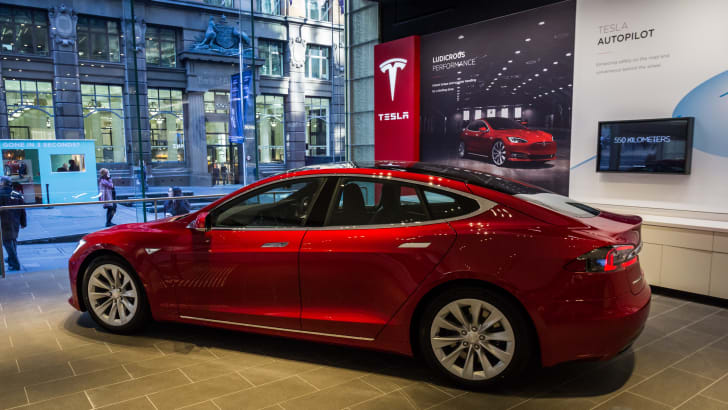 Tesla Model X peek at Sydney flagship store opening-3
