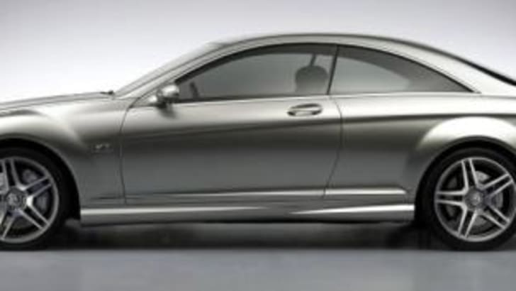 2008 Mercedes Benz CL65 coupe