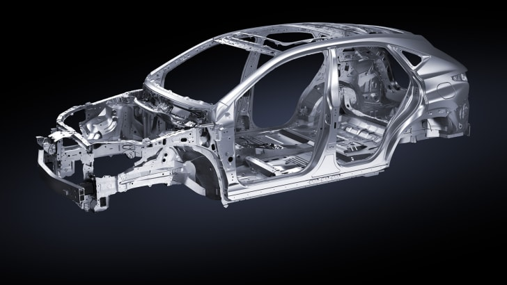 2014 Lexus NX 300h chassis