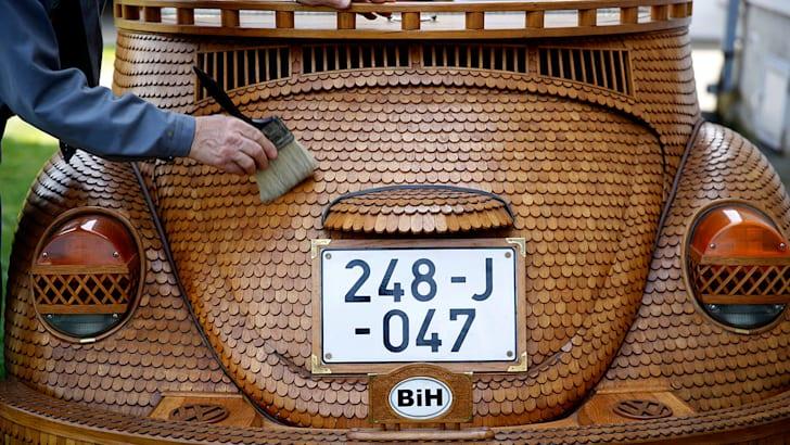 Oakswagen Beetle rear
