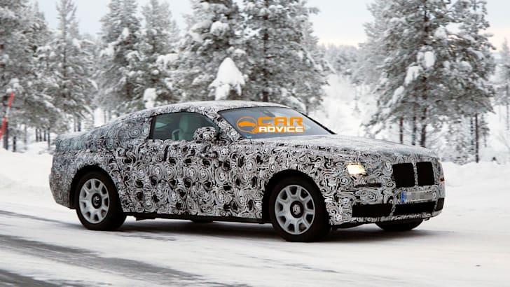 Rolls-Royce Wraith Spied - 2