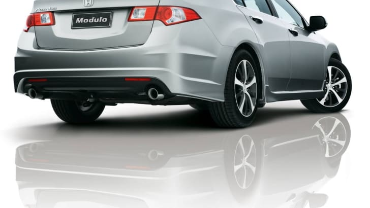 Honda Accord Euro gains Modulo Sports Pack