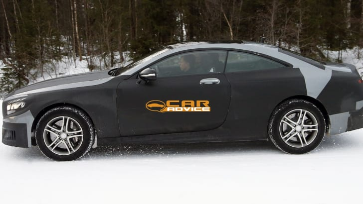 Mercedes-Benz S-Class Coupe Spied - 5