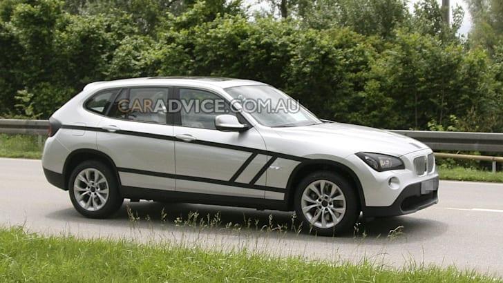 2011 BMW X1 SUV spied almost undisguised