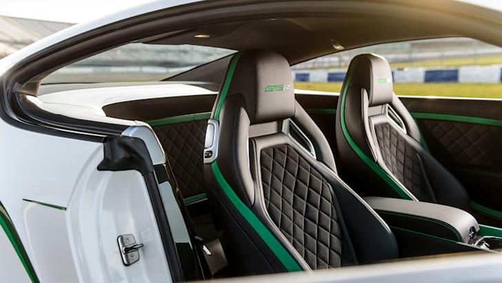 Bentley Continental GT3-R seats