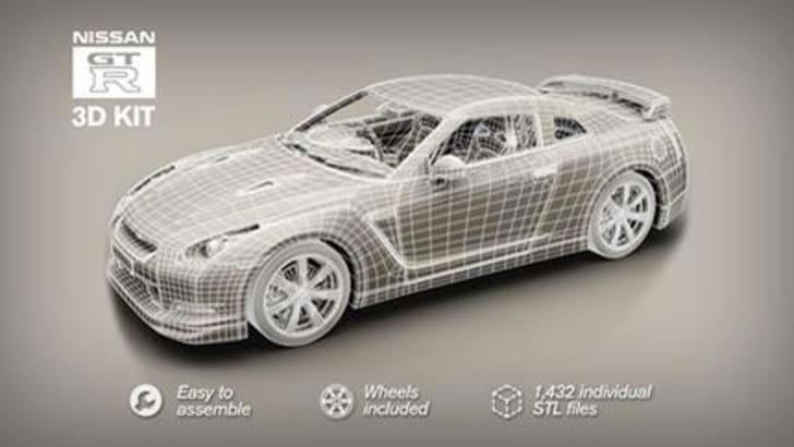 Nissan GT-R 3D Kit
