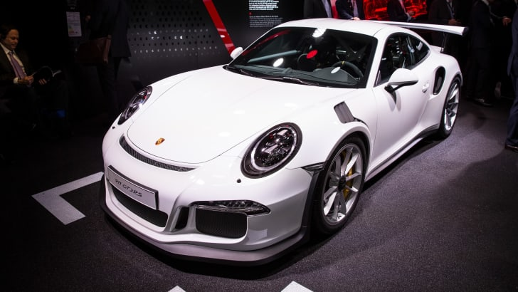 Porsche GT3RS - 2015 IAA September 17 - 27, 2015, Frankfurt, Germany