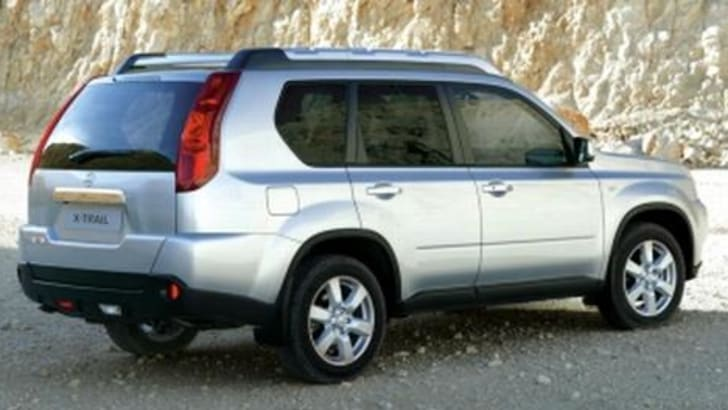 2007 Nissan X-Trail Rear