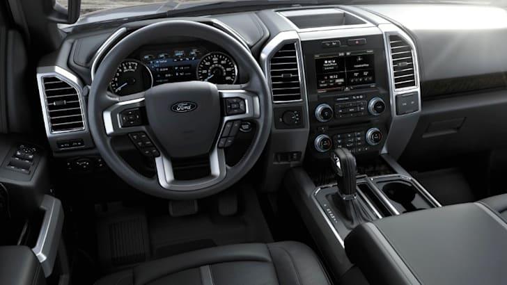 Ford F150 2015 interior