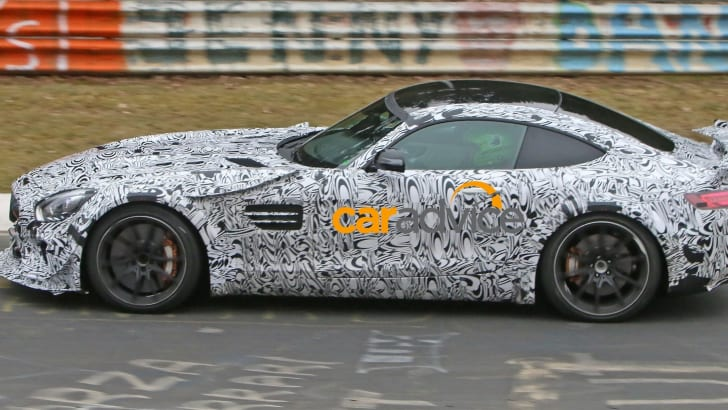 Mercedes-AMG GT Black Series Spied - 6