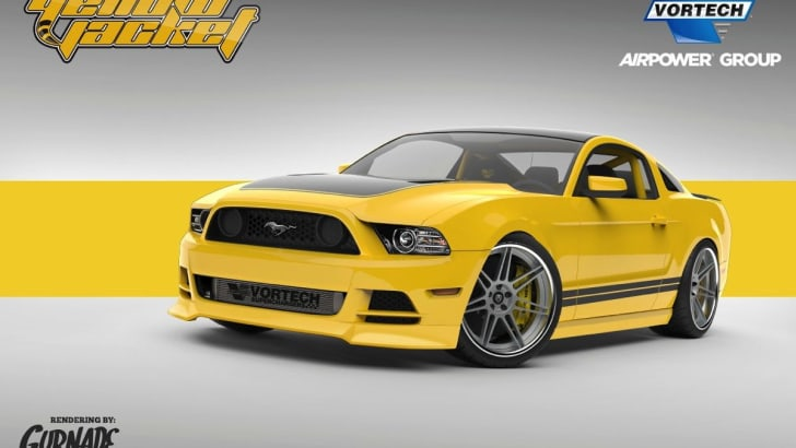 Ford Mustang SEMA concept2