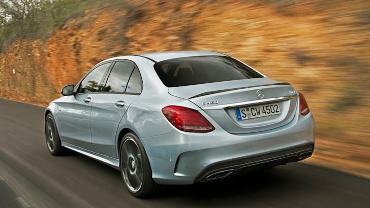 Mercedes-Benz C 450 AMG 4MATIC diamantsilber metallic
