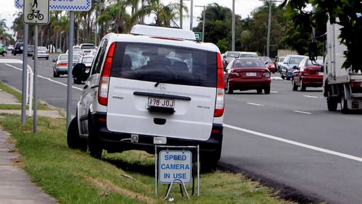 qld police speed camera
