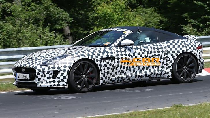 Jaguar F-Type Coupe Spied - 3