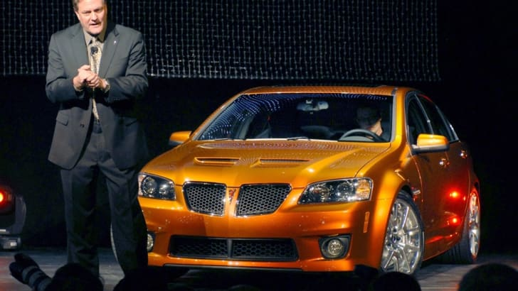2009 Pontiac G8 GXP Reveal