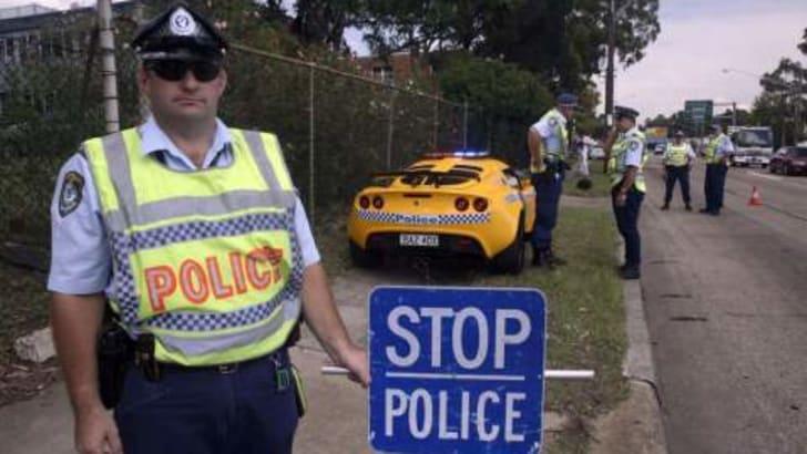 Lotus Exige NSW Police Car