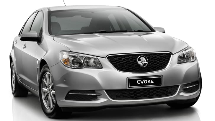 Holden VF Commodore Evoke front side