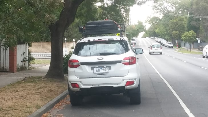 2015_Ford_Everest_Spy_Melbourne_3