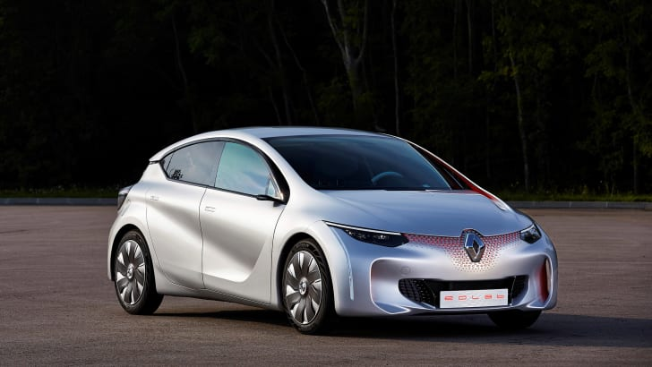 Renault Eolab concept car - front