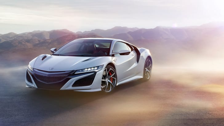 HONDA NSX CASINO WHITE