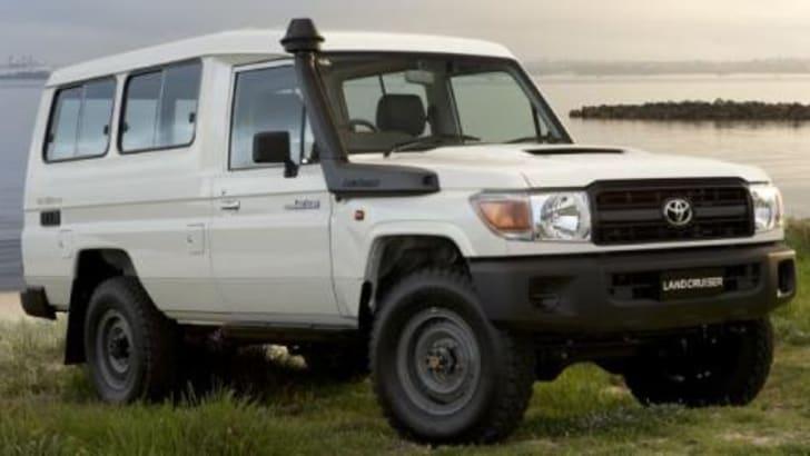 Toyota LandCruiser 70 Series Wagon